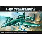 ACADEMY #12453 1/72 Plastic Model Kit USAF A-10A Thunder Bolt 2