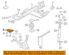 GM OEM Rear Suspension-Bracket Left 15887238