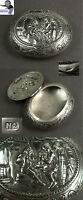 # Vintage silver snuff lid box made in Netherlands 1923 #
