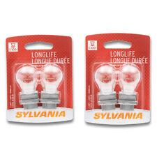 Sylvania Long Life - Two 2 Packs - 4157LL Light Bulb Brake Turn Signal Tail hq