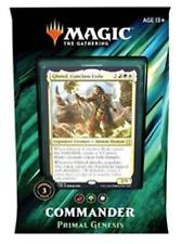 Commander 2019 Deck - Primal Genesis. Magic the Gathering