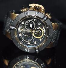Invicta Men's Rare Subaqua Swiss Chrono Grey Dial Black Silicone Watch 20159