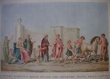 L. Mirri, g. Cluny 'venus, grazien, adonis' Romae del Titus, domus aurea, 1802