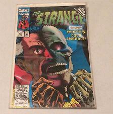 Dr. Strange #45 Sorcerer Supreme Death's Cold Embrace Comic Book Marvel Comics