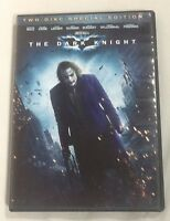 The Dark Knight (DVD, 2008, 2-Disc Set, Special Edition)