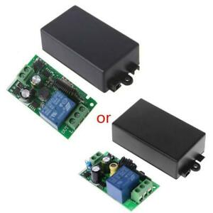 1CH RF 433MHz AC 220V Wireless Remote Control Switch Module Learning Code Relay
