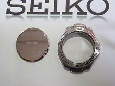 SEIKO 7N42-7C00 Stainless Watch Case +back cover+seal *EMPTY*NEW*NOS*VINTAGE*