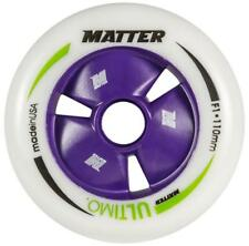Matter Ultimo, 110mm, F1, professional skate wheels.  8 pack  NEW!