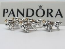 W/Box 1 Pandora Russian Fairytale Wish Fish Charm 792014CCZ_23 US Release Luck