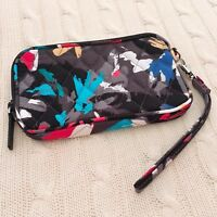 Vera Bradley Tech Case Wristlet Splash Floral Zip Top Cotton NWT Exact MSRP $34