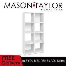 Mason Taylor 8 Cube Storage Shelf Cabinet Cupboard Organizer Display Unit