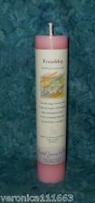 """Friendship Pillar Candle New Crystal Journey Herbal Energy Charged Healing 7"""" T"""