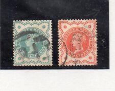 Gran Bretaña Monarquias Valores del año1887-900 (CU-382)