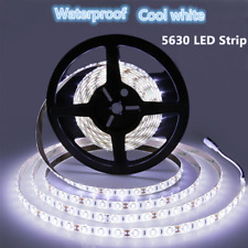 5M 300Leds 5630 Cool White Super Bright LED Strip SMD Light Waterproof DC 12V