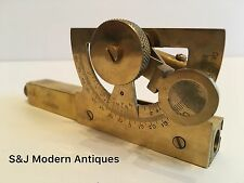 Abney Level & Clinometer Brass Antique Nautical Vintage Victorian Steampunk Old