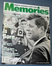 VINTAGE MEMORIES MAGAZINE APR/MAY 1990 JOHN F. KENNEDY SIMON & GARFUNKEL KENT ST