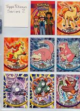 Complete Topps Pokemon Series 2 TV Animation Set. 72 'new from the pack' cards!