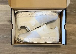 Nike Air Force 1 'Crater' Summit White CT1986-100 Women's 10, Men's 8.5
