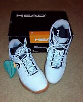 Head Speed Pro II Lite Indoor Footwear white/black Men's Sz 7