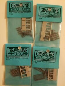 Ho Scale Grandt Line Accessories Lot of 4 Item # 5106