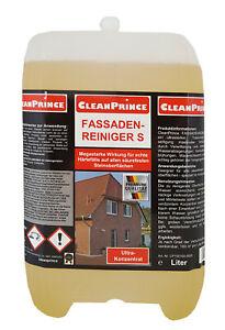 Fassadenreiniger 5 Liter säurehaltig Fassaden Reiniger Konzentrat Klinker Steine