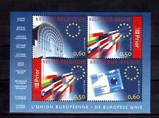 BELGIUM 2004 European Union min sheet MUH