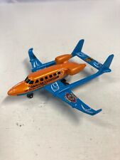 Matchbox Skybusters Twin Boom Hawaiian Excursion Die Cast Model Plane N3