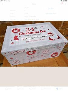 Personalised Christmas Eve Box, Christmas Keepsake Box, Christmas Gifts