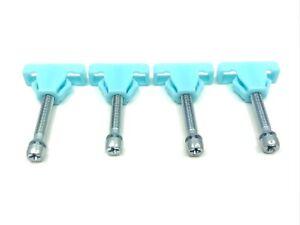 headlight adjusters headlamp adjuster screw & nut fits Chevy GM 78-88 4 pcs