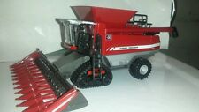 1/64 ertl farm toy custom agco massey Ferguson 9795 combine with tracks
