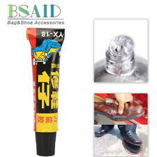 1X Super Adhesive Repair Glue For Leather Shoe Rubber Canvas Tube Strong Bond @