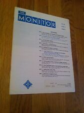 The Monitor May 1967 New York Institute Electrical Engineers Tech Newsletter