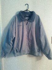 Columbia Sportswear Co. mens coat jacket with fleece lining, size XXL, gray