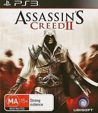 PLAYSTATION 3 ASSASSIN'S CREED II PS3 GAME AUSTRALIAN RELEASE
