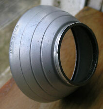 German  Lens hood 40/42  Aluminium 42mm bayonet type