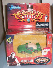 JESSIE JAMES MONSTER GARAGE SWITCHBLADE LAWN MOWER 1:64 MUSCLE MACHINES