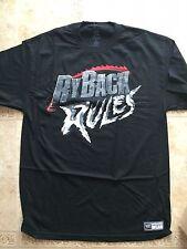 RYBACK WWE AUTHENTIC Wear Black T-SHIRT LARGE Ryback Rules
