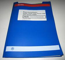 Werkstatthandbuch VW Polo 6N Classic Variant Caddy 5 Gang Getriebe 02J 01/2000