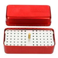 72 Loch Autoklav Sterilisierer Koffer Dental Aluminium Endo Feilen Halter Box  X