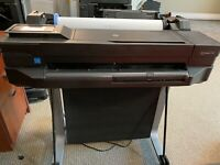 HP Designjet T120 Professional Printer ePrinter — with Stand