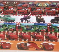 1 inch Cars Grosgrain Ribbon Mixed Lot 6 Yards -