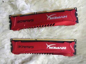 Kingston HX324C11SRK2/8 (8 GB, PC3-19200 (DDR3-2400), DDR3 SDRAM, 2400 MHz