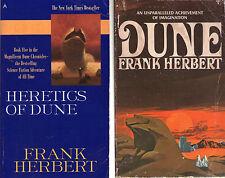 Complete Set Series - Lot of 20 Dune books by Frank Herbert Brian Herbert Sci Fi