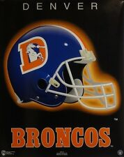 The Denver Broncos 16x20 NFL Helmet Poster 1996