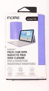 incipio Folio Case/Cover Magnetic Fold Over Closure for LG G Pad F 8.0 Purple