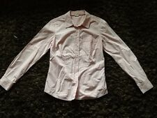 Ladies Size 10 Candy stripe Shirt From Boden In Excellent Condition