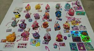 Lot of 22 Moose PIKMI POPS Surprise Sweetly Scented Mini Bean Bag Toys +stickers
