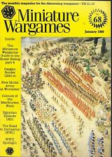 Miniature Wargames No.68 Jan 1989 Road To Damascus * Colours Of Marlburian Wars