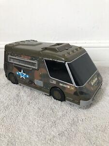 Micro Machines Army Base Super Van City Playset Vintage 1991 Galoob