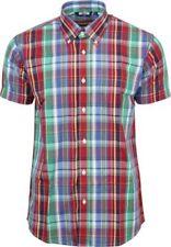 Camisas y polos de hombre rojo color principal multicolor
